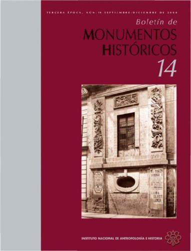 Boletín de Monumentos Históricos -  Num. 14 (2008) (Tercera Época)