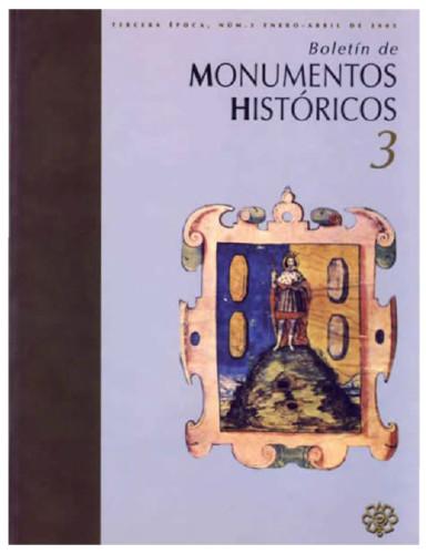 Boletín de Monumentos Históricos -  Num. 3 (2005) (Tercera Época)