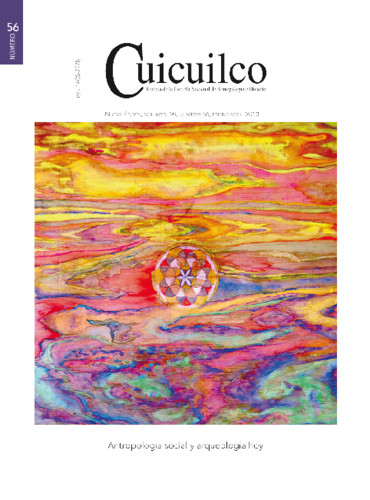 Cuicuilco Vol. 20 Num. 56 (2013) Antropología social y arqueología hoy
