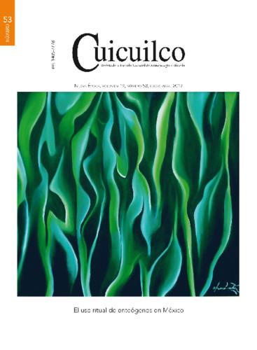 Cuicuilco Vol. 19 Num. 53 (2012) El uso ritual de enteógenos en México