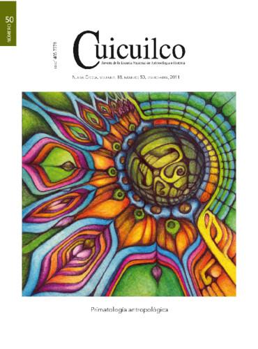 Cuicuilco Vol. 18 Num. 50 (2011) Primatología antropológica