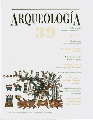 Arqueología -  Num. 39 (2008)