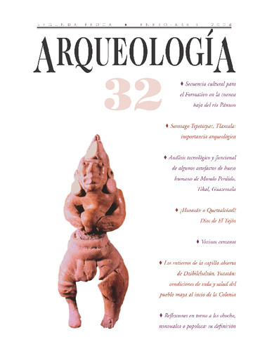 Arqueología -  Num. 32 (2004) Segunda Época