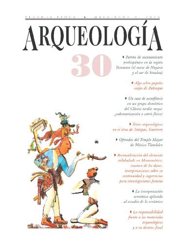 Arqueología -  Num. 30 (2003) Segunda Época