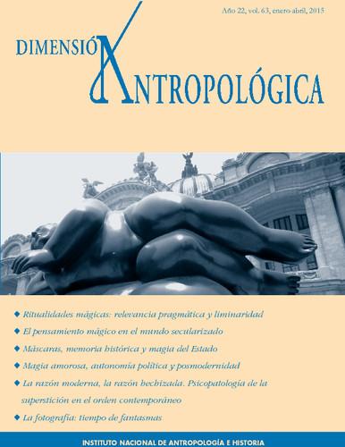 Dimensión Antropológica Vol. 63 (2015)