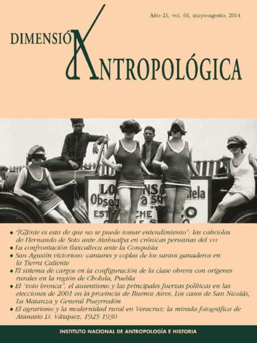 Dimensión Antropológica Vol. 61 (2014)