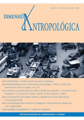 Dimensión Antropológica Vol. 60 (2014)