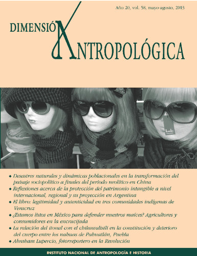 Dimensión Antropológica -  Vol. 58 (2013)