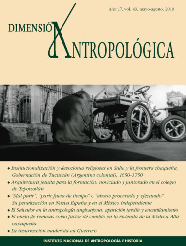 Dimensión Antropológica -  Vol. 49 (2010)