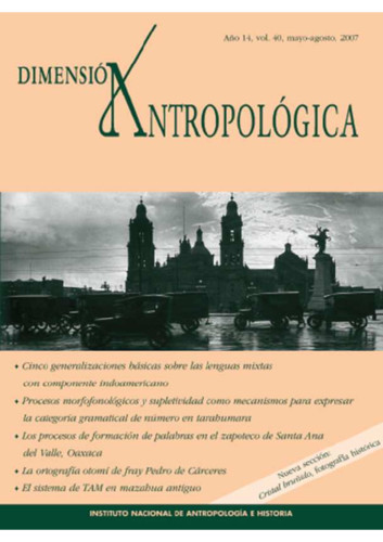 Dimensión Antropológica Vol. 40 (2007)