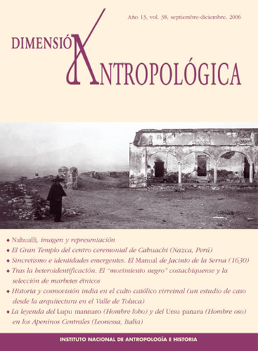 Dimensión Antropológica Vol. 38 (2006)