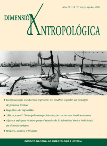 Dimensión Antropológica Vol. 37 (2006)