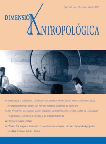 Dimensión Antropológica Vol. 33 (2005)