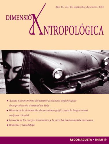 Dimensión Antropológica Vol. 29 (2003)