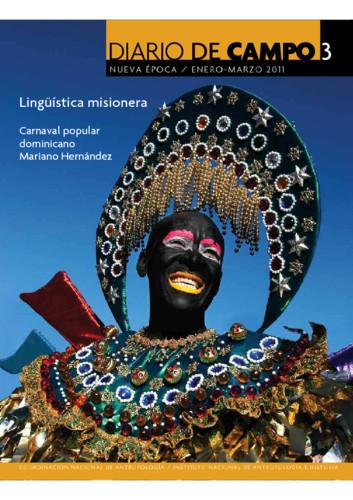 Diario de Campo -  Num. 3 (2011) Lingüística misionera
