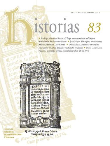 Historias Num. 83 (2012)