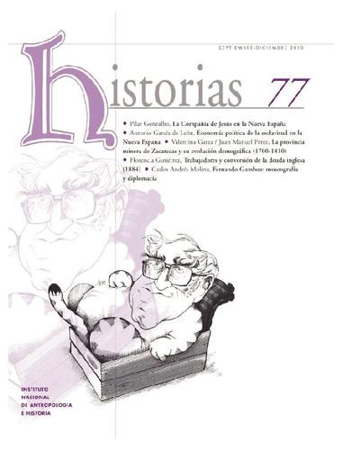 Historias Num. 77 (2010)