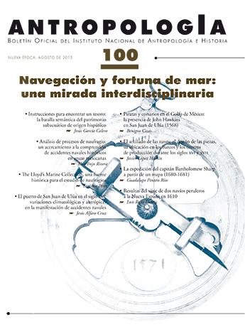Antropología Num. 100 (2015) Navegación y fortuna de mar: una mirada interdisciplinaria