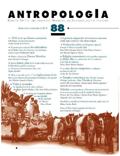 Antropología Num. 88 (2010)