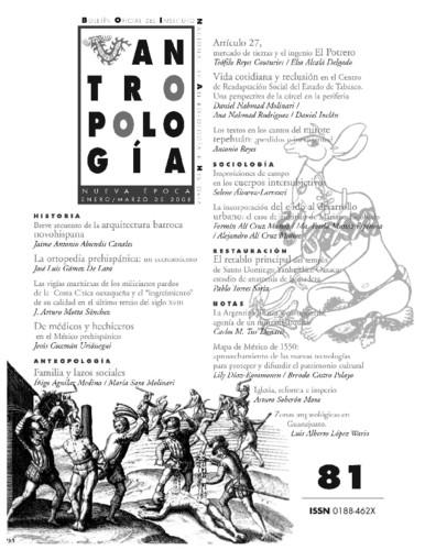 Antropología Num. 81 (2008)