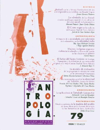 Antropología Num. 79 (2005)