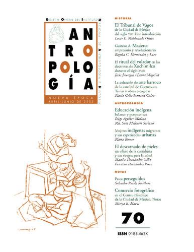 Antropología Num. 70 (2003)