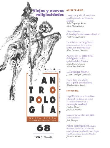 Antropología Num. 68 (2002) Viejas y nuevas religiosidades