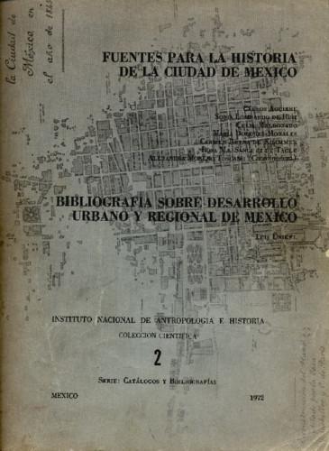 Fuentes para la Historia de la Ciudad de México
