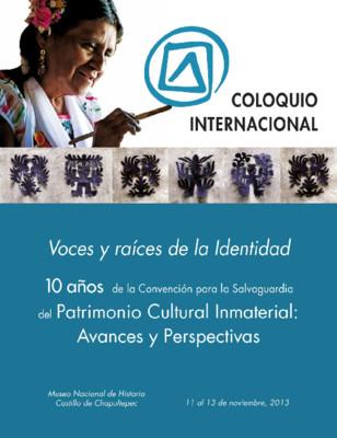 Coloquio Internacional. Voces y raíces de la Identidad