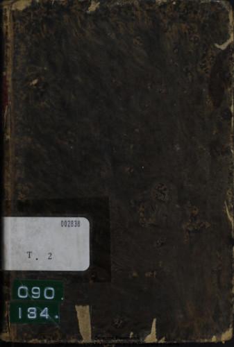 Cartas físico-matemáticas de Teodosio a Eugenio. Tomo II