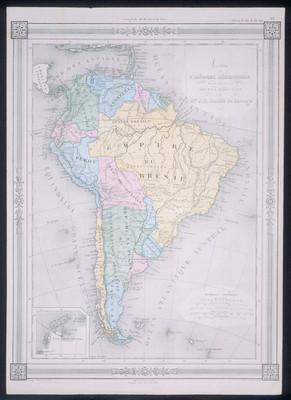 Carte de I' Amérique Méridionales