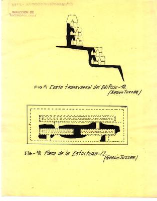 Corte transversal del edificio 10