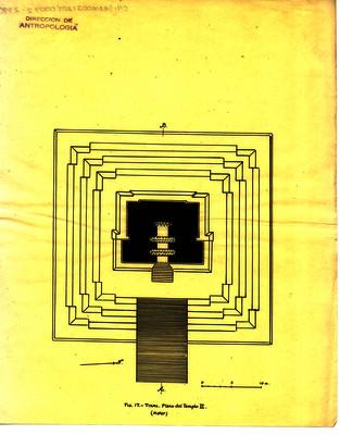 Plano del templo II