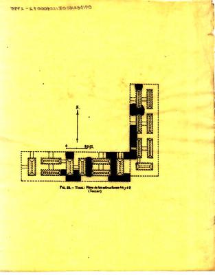 Plano de las estructuras 44 y 47