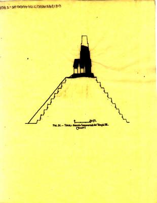 Sección transversal del templo III