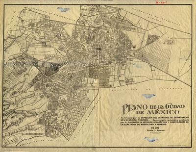 Plano de la Ciudad de México