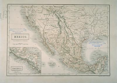 Mexico, California and Texas