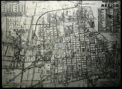 Plano General de la Ciudad de México
