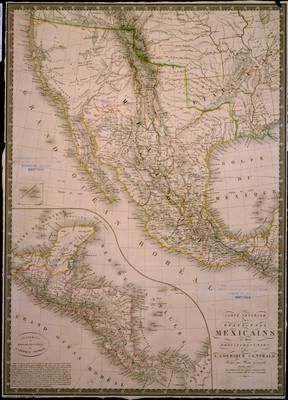 Carte Generale des Etats-Unis Mexicains et des provinces-unies de L'Amérique Centrale