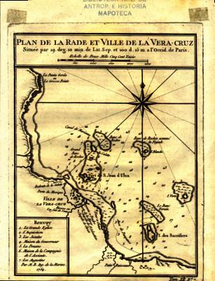 Plan de la Rade et Ville de la Vera-Cruz