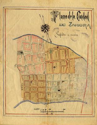 Plano de la Ciudad de Zamora