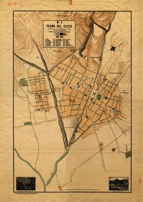 Plano del Cuzco