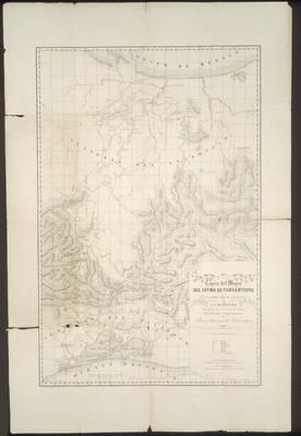 Copia del mapa del Istmo de Tehuantepec