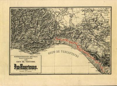 Carta del Ferrocarril Pan-Americano