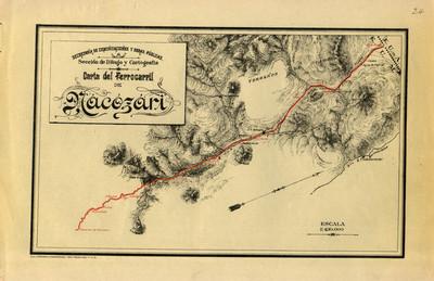 Carta del Ferrocarril de Nacozari