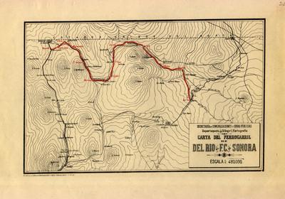 Carta del Ferrocarril del Río al F.C. de Sonora