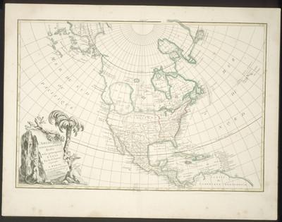 L' Amerique septentrionale divisée en ses principaux etats