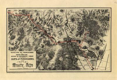 Carta del Ferrocarril de Monte Alto