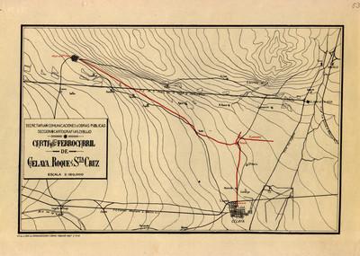 Carta del Ferrocarril de Celaya, Roque y Santa Cruz