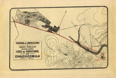 Carta del Ferrocarril de Chalchicomula